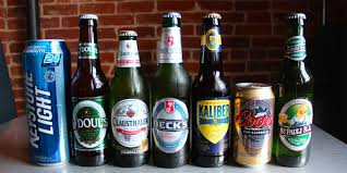 percent alcohol in michelob ultra light 11 non alcoholic beers taste tested