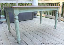 how to get stains out of wood table thrift store table makeover color wash paint technique life on