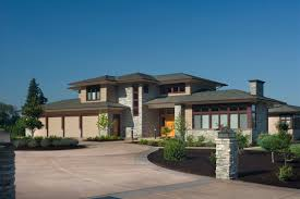 praire style homes appealing contemporary prairie style house plans curve architecture