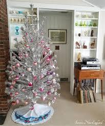 vintage aluminum christmas tree our vintage 1950s aluminum christmas tree serene new