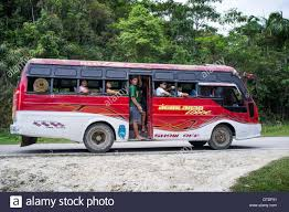 philippines bus public bus in island bohol philippines stock photo royalty free