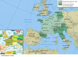 Algeria On Map Western Civ Print