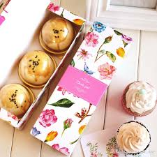 cookie gift boxes flower decoration macaron cookie packaging box chocolate gift