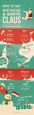 how to say merry santa claus in other countries