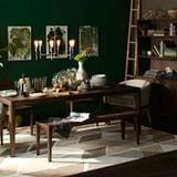 Green Dining Room Paint Color Portfolio Green Dining Rooms Apartment Therapy