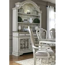 antique white buffet and hutch magnolia manor collection rc