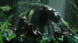 viperwolf with pups from avatar desktop wallpaper