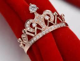 crown wedding rings royal crown mount gold 14k wedding ring genuine gold 14k