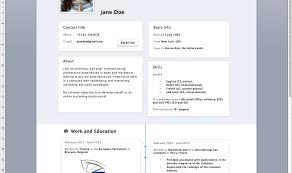 Resume Maker Template Resume Cvsintellect Amazing Online Simple Resume Maker Standard