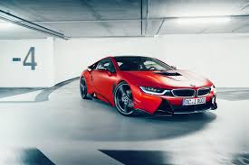 bmw i8 stanced bmw i8 with carbon aerodynamic accessories by ac schnitzer bmwcoop