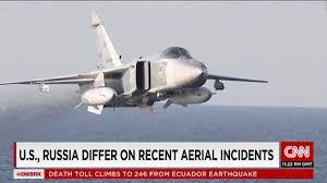 Putin S Plane by Russian Jet Barrel Rolls Over U S Aircraft Cnnpolitics