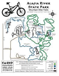 Lithia Florida Map by Fl Trails Florida Mountain Bike Trails Alafia River State Park