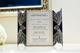 great gatsby wedding invitations stunning gatsby inspired wedding at the prado balboa park san