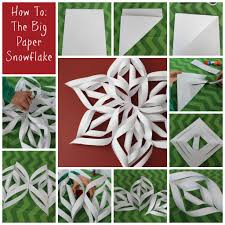 four boredom busters for days off paper snowflakes