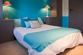 chambre bleu et blanc chambre en bleu et blanc idées déco aménagement