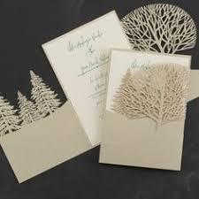 winter themed wedding invitations mint green laser cut wedding invitation kit ewws010