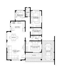 wonderful inspiration small bungalow house floor plan philippines