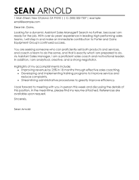 entry level retail cover letter examples