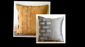 basket weave cushion cover cutting and stitching diy home