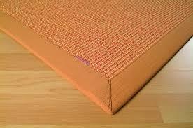 teppich sisal sisal teppich mara a2 pur mandarine 67 x 133 cm teppiche