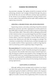writing a strategy paper 4 conclusions and recommendations changing the conversation page 102