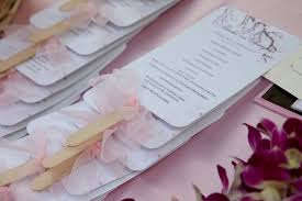 wedding fan favors columbia bobak s signature event