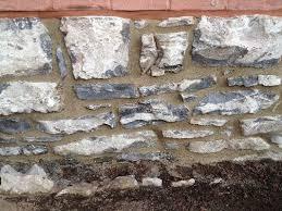 Parge Basement Walls by Stone Foundations Basic Guide U2014 Stonehenge Masonry Company