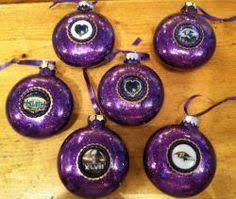 tutorial to make ravens ornament but i think the 49ers would look