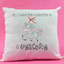 Present Decoration Unicorn Cushion Decoration Present