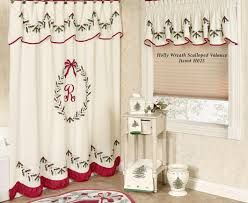 Snowman Shower Curtain Target Shower Refreshing Christmas Shower Curtains At Target Fearsome