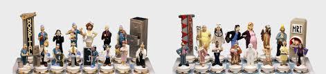 chess set designs doctors vs patients doug anderson