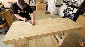 Woodworking Workbench Top Material by How To Flatten A Workbench Top With Hand Planes Jays Custom
