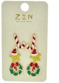 christmas earrings christmas earrings 123stitch