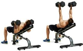 How To Do A Incline Bench Press Incline Dumbbell Bench Press U2022 Bodybuilding Wizard