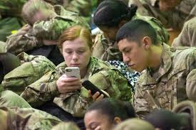 mass exodus of soldiers in go home for holidays article