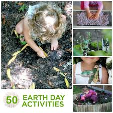 50 earth day activities for