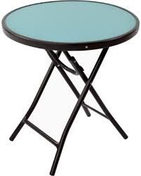 Patio Accent Table Tis The Season For Savings On Glass Folding Patio Accent Table