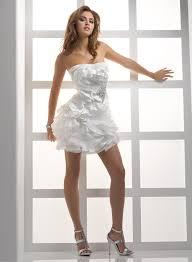 courthouse wedding dress short margusriga baby party simple yet