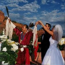 american wedding traditions american wedding ceremony honoring the spirits of the air