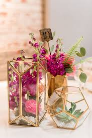 18 Contemporary And Elegant Vase Brightly Colorful Sequined Wedding Gold Weddings Modern And Gold