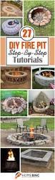 backyards splendid easy backyard fire pit designs more 125 diy