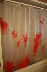 Blood Shower Curtain Musely