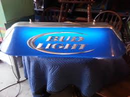 bud light pool table light bud light pool table light nex tech classifieds