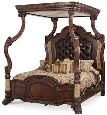 Northshore Canopy Bed by Bedroom Set Victoria Palace By Aico Aico Bedroom Furniture