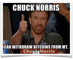 Chuck Norris Meme - meme ing the blockchain e 26 chuck norris can get his coins