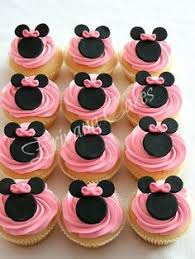 fondant mouse ears with bow minnie cupcake toppers fondant bow