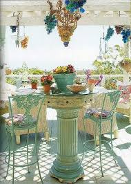 Shabby Chic Patio Furniture by Best 20 Shabby Chic Patio Ideas On Pinterest Shabby Chic Porch