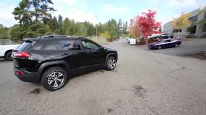 firecracker red jeep cherokee 2017 jeep cherokee trailhawk diamond black hw529909 redmond