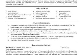 Physical Therapy Sample Resume by Resume Templates Physical Therapist Resume Physical Therapist
