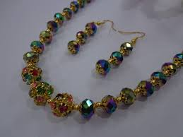 crystal chain necklace images Chain crystal chain manufacturer from tirunelveli jpg